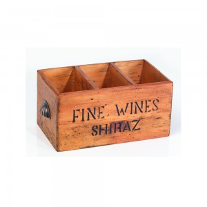 3 Hole Shiraz Wine Box