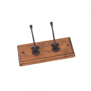 2 Hook Coat Rack