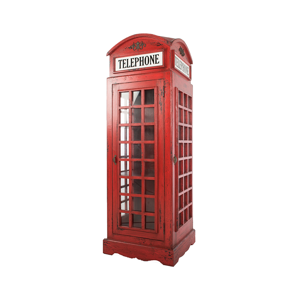 Inadam Furniture Red Phone Box From The Nostalgia