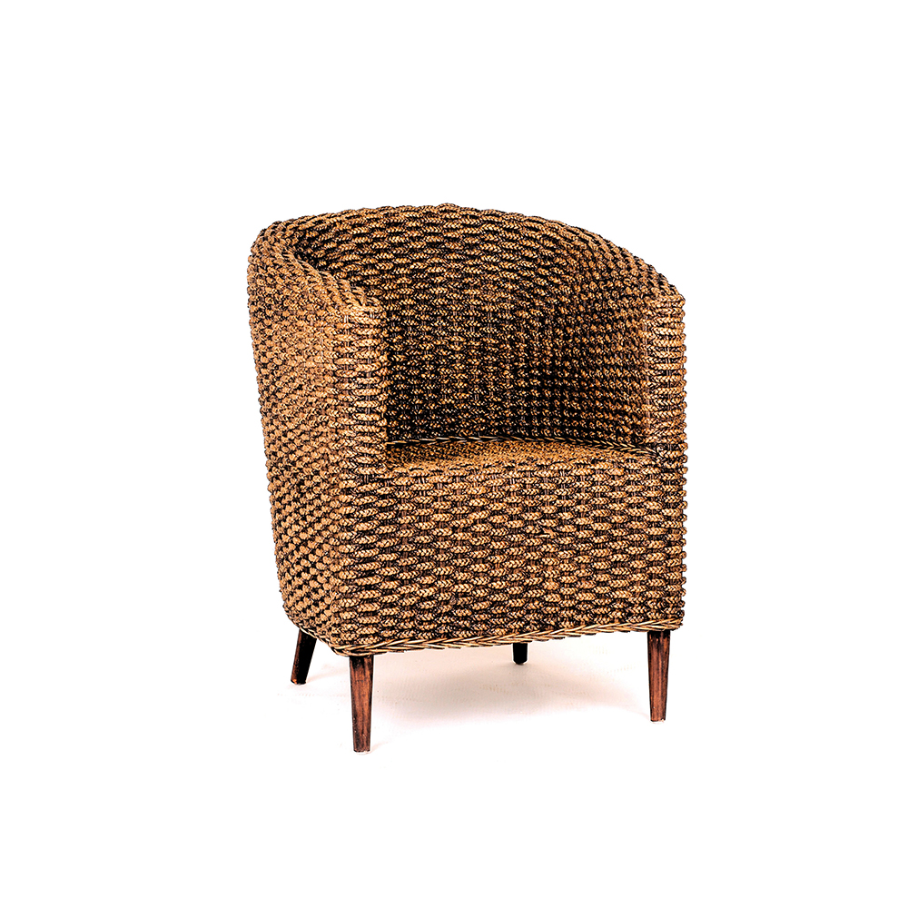 Inadam Furniture - Tub Chair - From the Woven Chair Furniture Collection