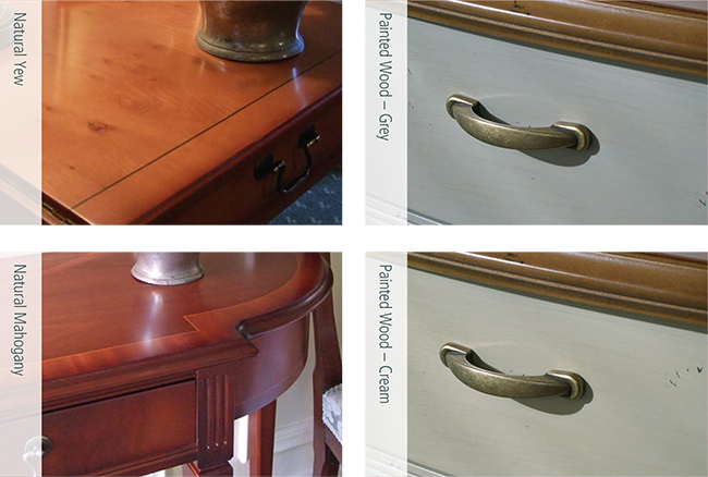 Classical Reproduction Furniture wood finishes