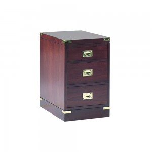 Military 3 Drawer Filling Cabinet