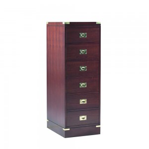 Military Tall 5 Drawer Chest
