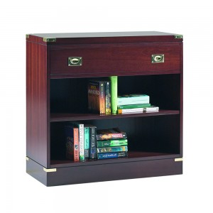 Military 1 Drawer Low Bookcase