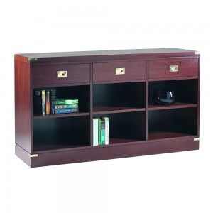 Military 3 Drawer Bookcase