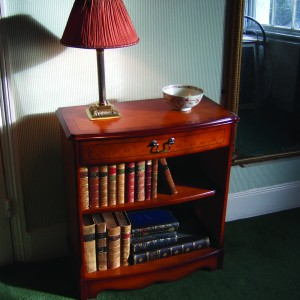 Bow Fronted Mini Bookcase