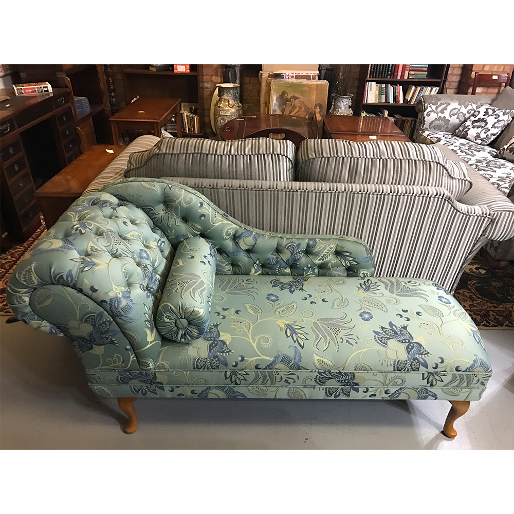 Patterned Chaise Lounge Amazing Inspiration