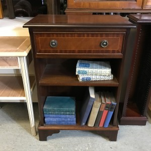 Regency 1 Draw Low Bookcase