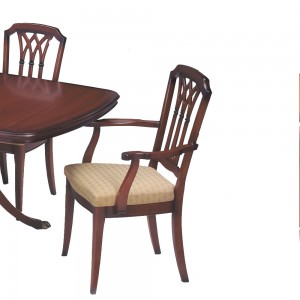 Classic Gothic Dining Chair or Carver Chair
