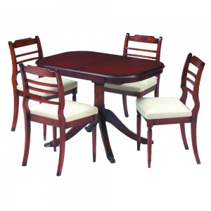 Classic Ladder Back Dining Table