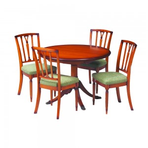 Classic Circular Dining Table