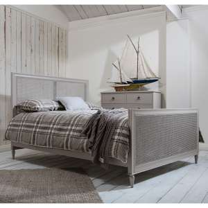 5' bed in Light Grey