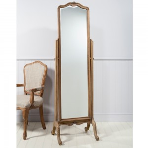 Cheval Mirror in Ash