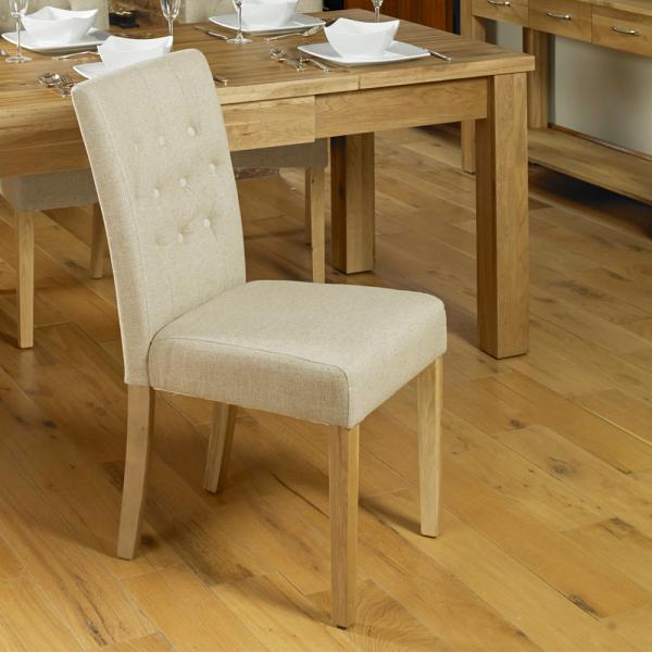 Upholstered Chair In Biscuit