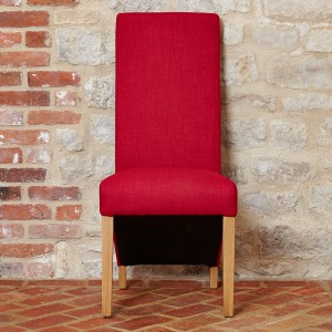 Upholstered Chair In Red