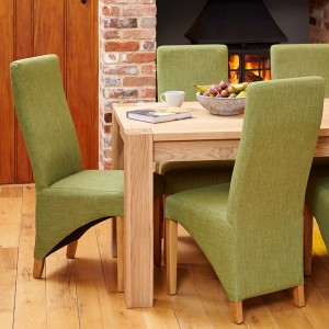 Upholstered Chair in Sage Green
