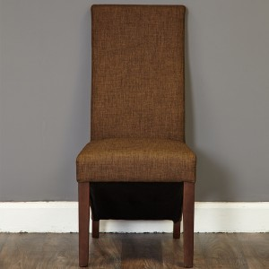 Upholstered Chair In Hazelnut