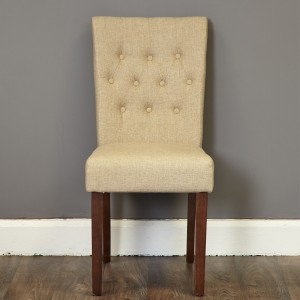 Upholstered Chair In Cream