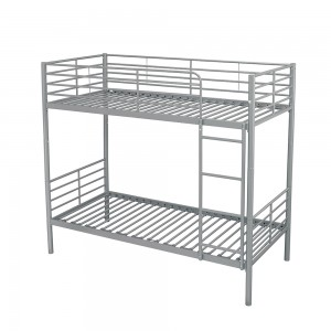Box Bunk Bed Silver