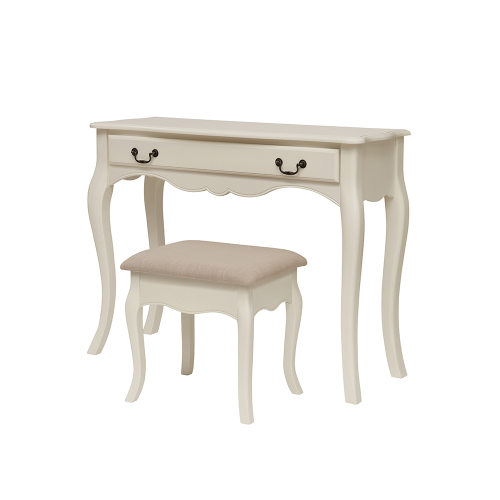 Inadam furniture dressing table stool elizabeth for Bedroom table chairs