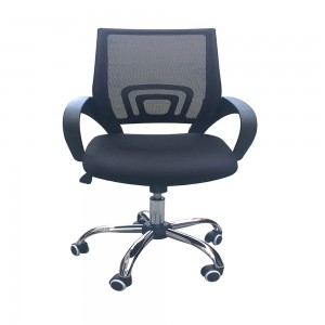 Mesh Back Desk Chair Black