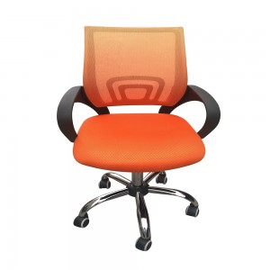 Mesh Back Desk Chair Orange