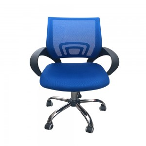 Mesh Back Desk Chair Blue