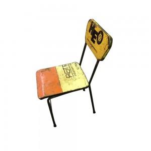 Oil Drum Single Chair