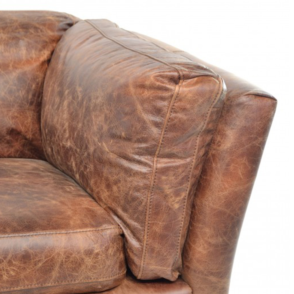 Inadam Furniture Leather 2 Seater Sofa Leather Chair