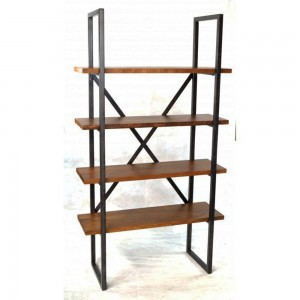 Bookcase with 2 Legs