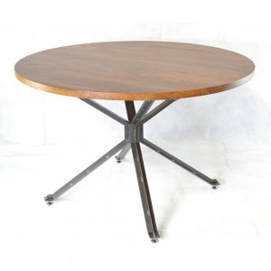 Metal Round Dining Table