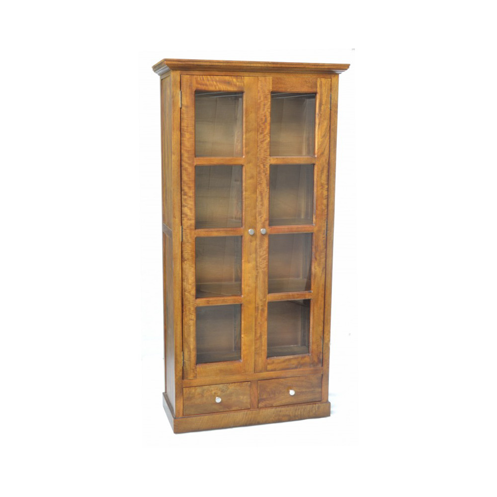 Inadam furniture 2 door glass cabinet from the for Door furniture uk