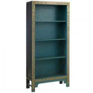 Blue Bookcase