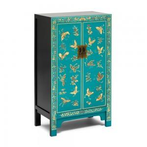 Blue Medium Cabinet