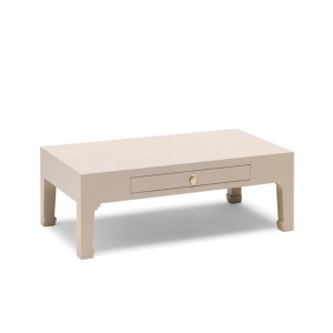 Grey Coffee Table with Drawer