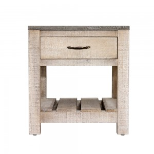 1 Drawer Low Side Table