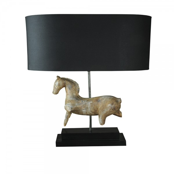 Brown Horse Lamp