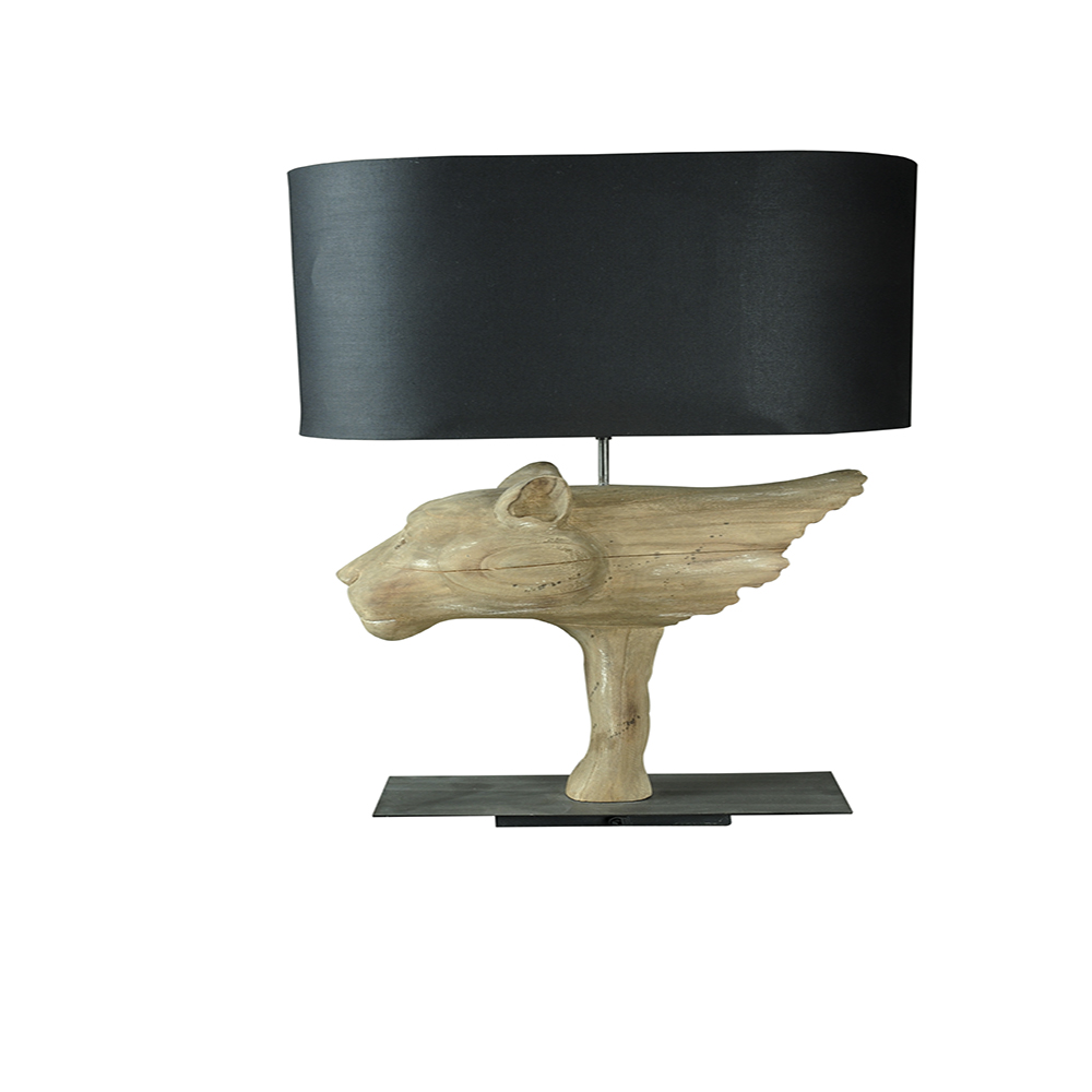 Inadam furniture wooden dog table lamp from the animal lamp wooden dog table lamp from the animal lamp collection geotapseo Gallery