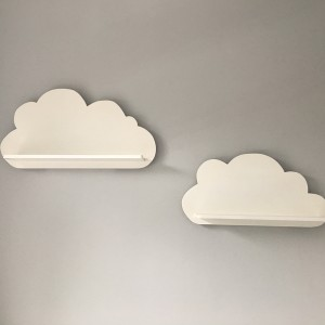Cloud Shelves White Nursery
