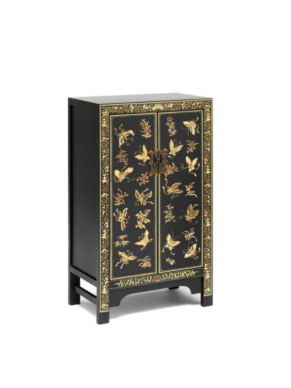 Black Medium Cabinet
