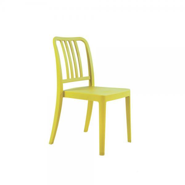 Green Side Chair Gravel