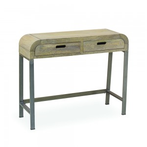 Console Table Industrial Retro