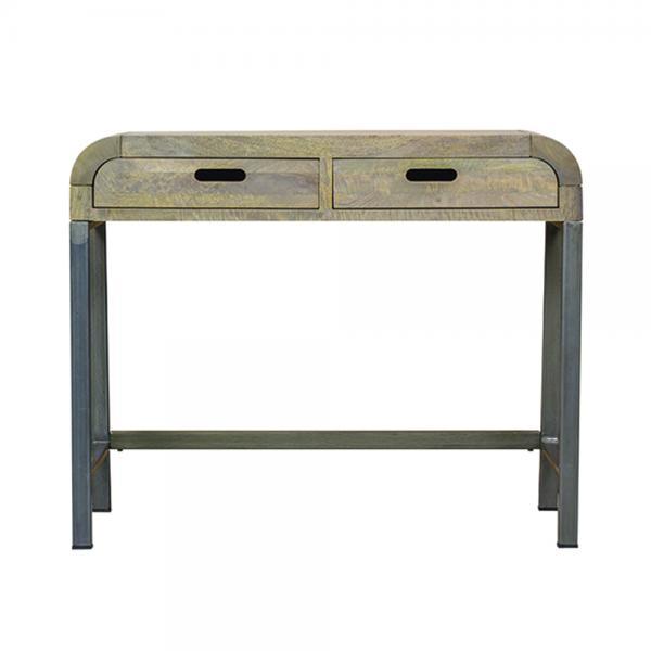 Console Table Industrial Retro
