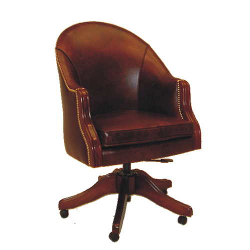 Bishop Swivel Chair U2013 Choice Of Leather Colours U2013 Reproduction Furniture