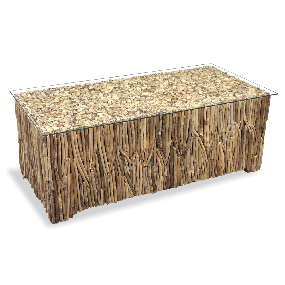 Driftwood Rectangle Coffee Table Driftwood Furniture Quality