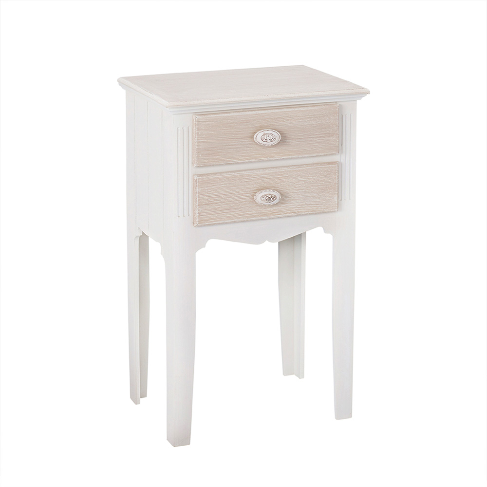 2 Drawer Table Shabby Chic Furniture Collection Quality