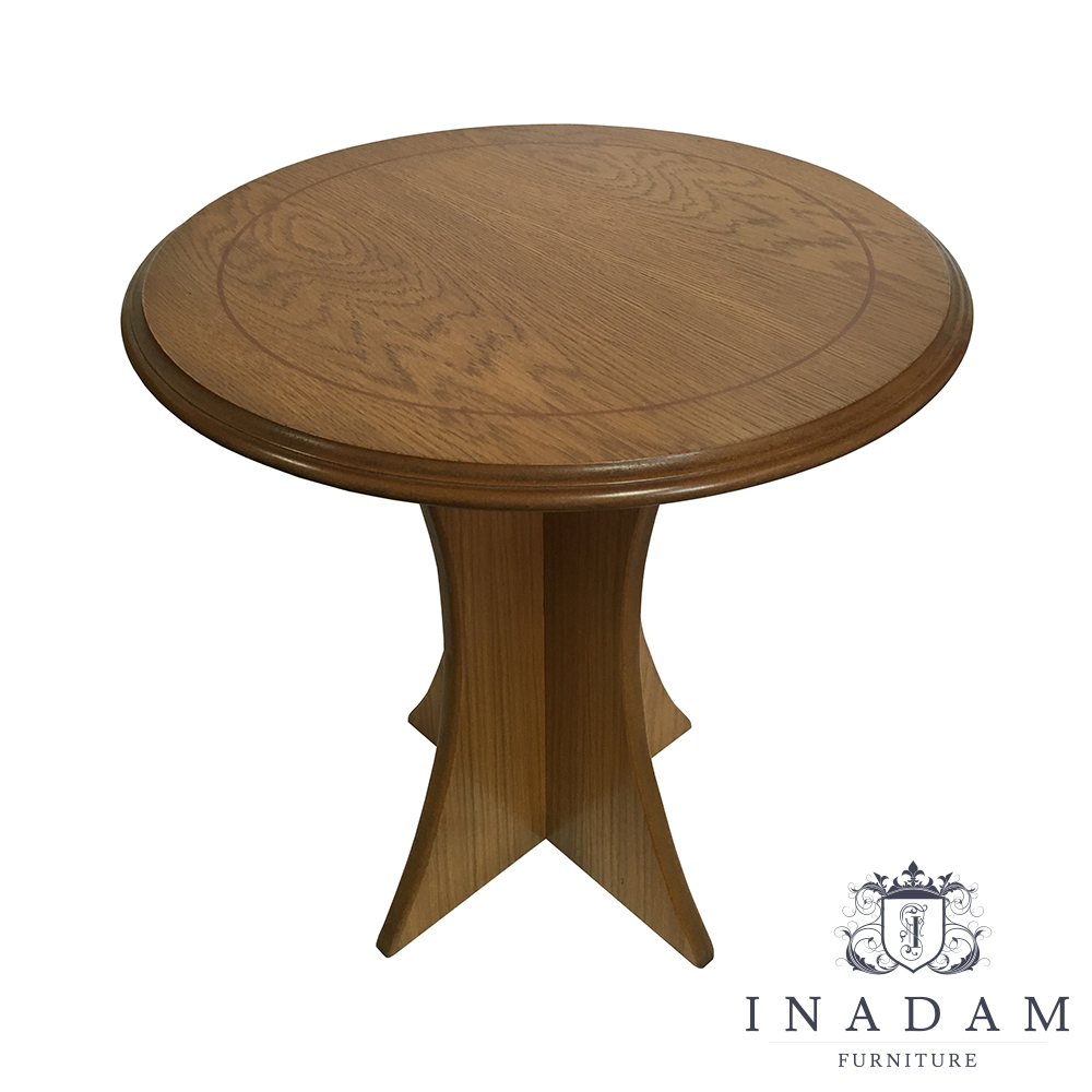 Small Round Table Simple Oak Tables Collection Quality Furniture Handmade Furniture Antique Reproduction Furniture Mahogany Yew Walnut Furniture