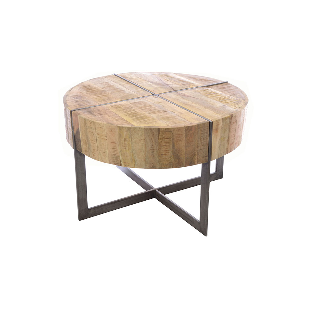 Round Coffee Table Industrial Empire Furniture