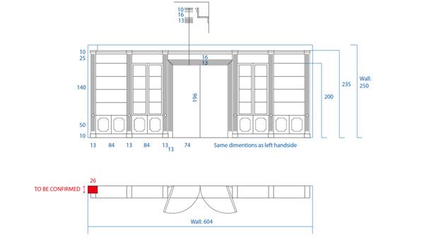 Bespoke Bookcase Design