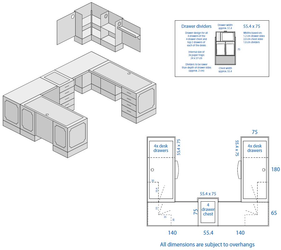 Bespoke Desk Design